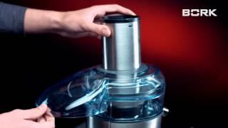Відео інструкція до BORK S700 - збірка соковижималки BORK S700