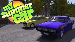 WHO WOULD WIN IN A RACE? Custom Paint Jobs For All Cars - My Summer Car Gameplay Highlights Ep 35