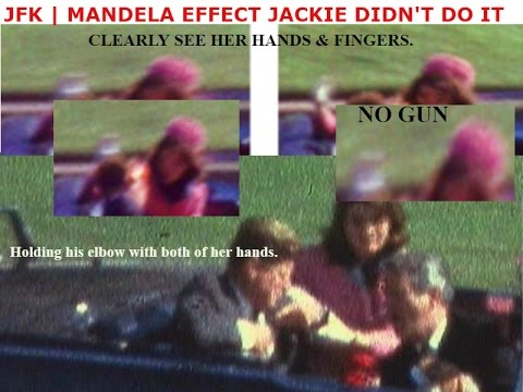 Mandela Effect | JFK Assassination | Proof Jackie Didn't Do It!