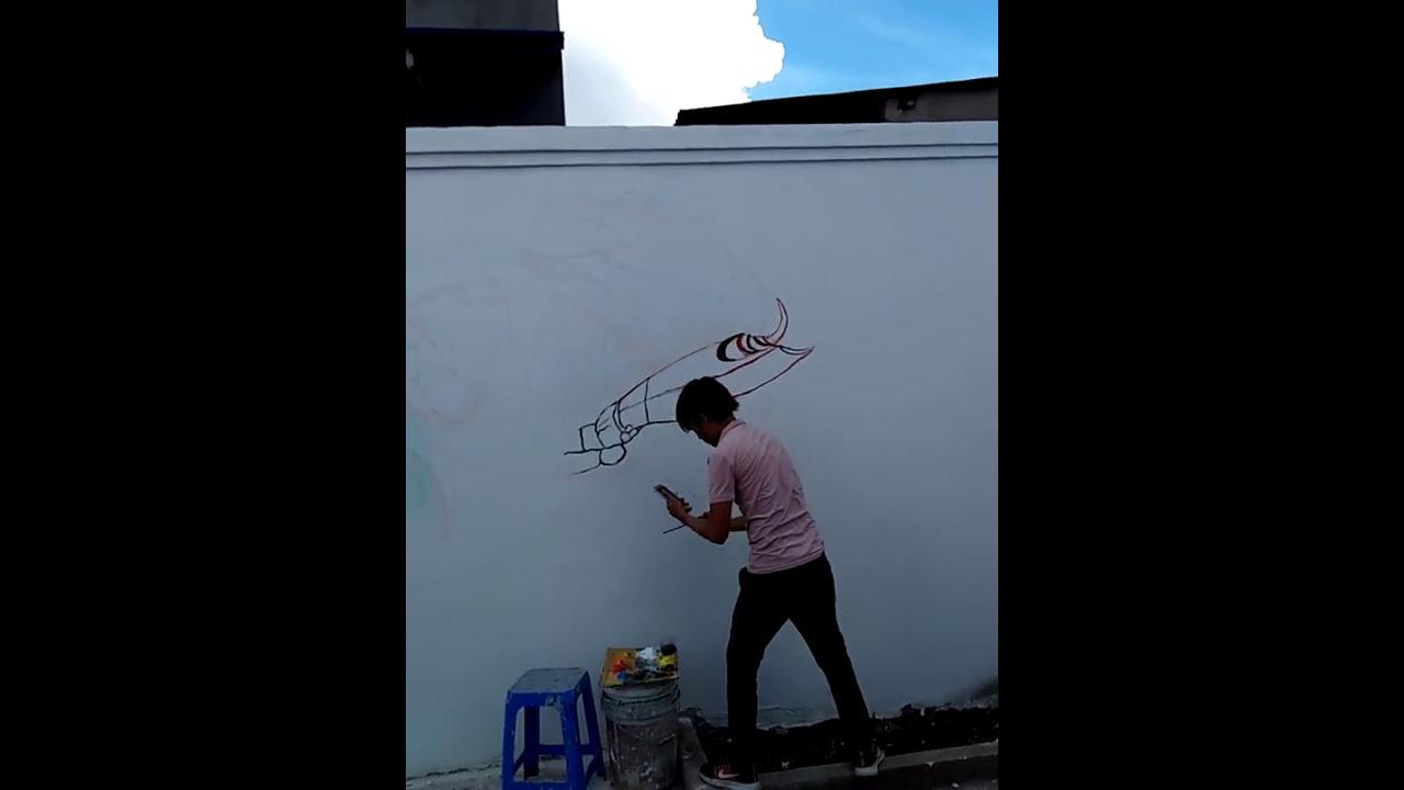 Vẽ tranh tường Đồng Nai-0966581851-Vẽ trần mây Biên Hòa
