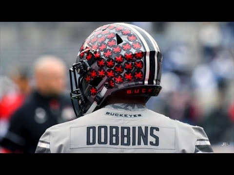 The Next Great Ohio State RB || Ohio State RB JK Dobbins 2017 Highlights ᴴᴰ