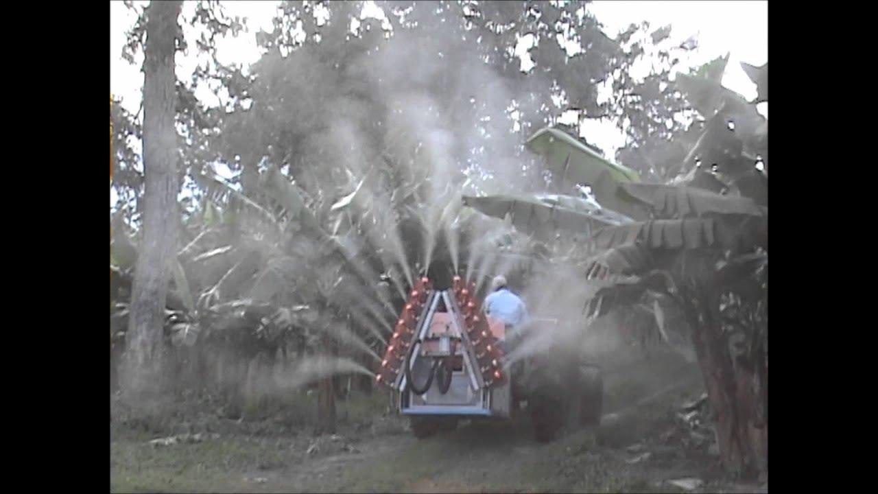100sr16 Spraying Banana Trees Electrostatic Tractor Mounted Sprayers