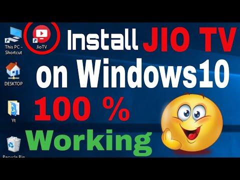 Install Jio TV In Windows10   Watch Live TV On Windows10   Tech Khizar  