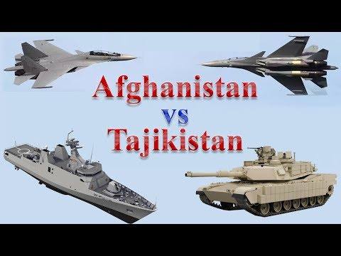 Afghanistan vs Tajikistan Military Comparison 2017