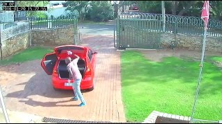 Five minute burglary, despite the gate and barbed wire! | Campbell Window Film