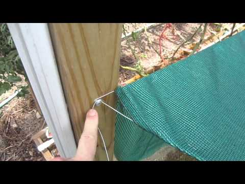 Shade Cloth: Save 50% on Vegetable Garden Shade Cloth