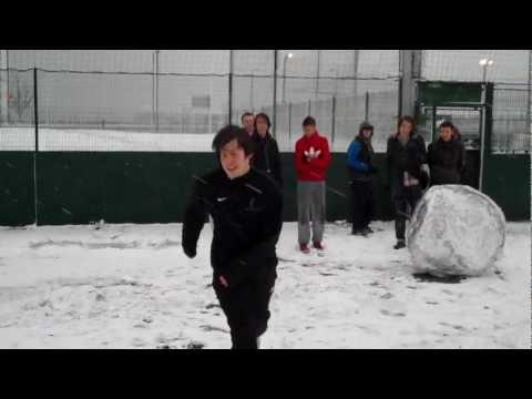 Portsmouth College Snowy Crossbar Challenge 1
