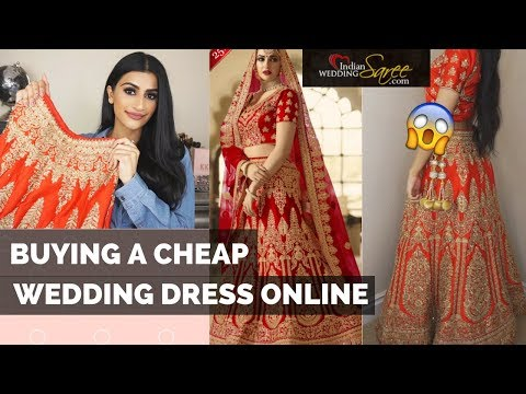I BOUGHT A $200 BRIDAL WEDDING LEHENGA ON INDIANWEDDINGSAREE.COM!? OMG