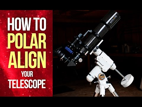 How to Polar Align Your Telescope Mount - EQ Polar Alignment