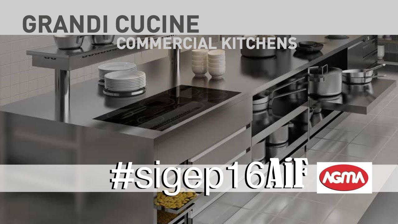 Arredamento in acciaio inox per ristorazione - AGMA - YouTube