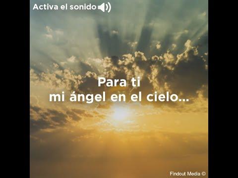 Mi ángel en el cielo...