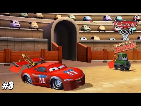 Cars Toon: Mater's Tall Tales - Wii Playthrough Gamaplay 1080p (DOLPHIN) PART 3