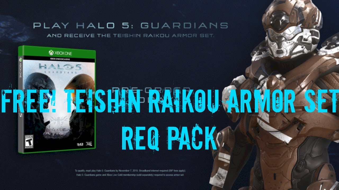 Req Pack Game Code Halo 5 Guardians