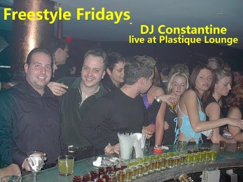DJ Constantine Freestyle Mix live at Plastique Lounge 1998 with Tony Monaco