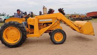 1958 JD 440 Industrial Loader Tractor-Selling on BigIron Auction 8/16/17-lot#DH1016