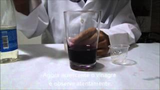 Oxidação e redução do Permanganato de Potássio O VIOLETA QUE DESAPARECE