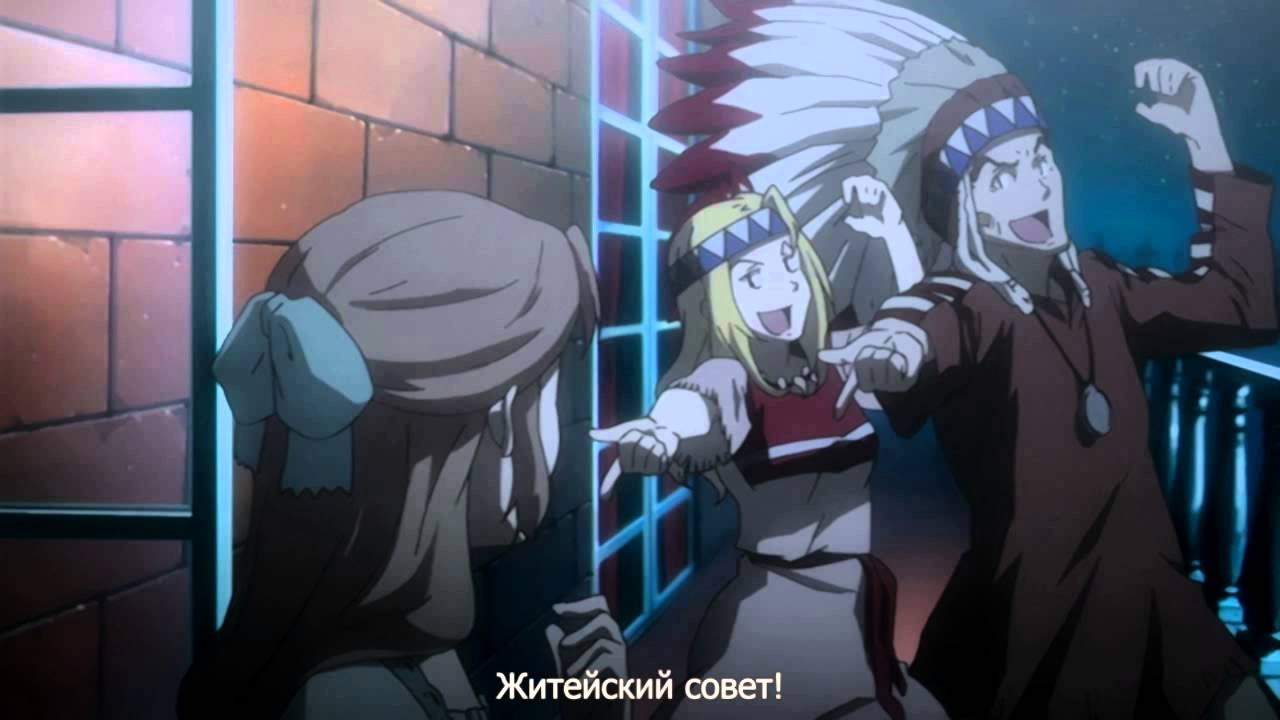 Isaac and Miria. Some funny moments. Rus sub.