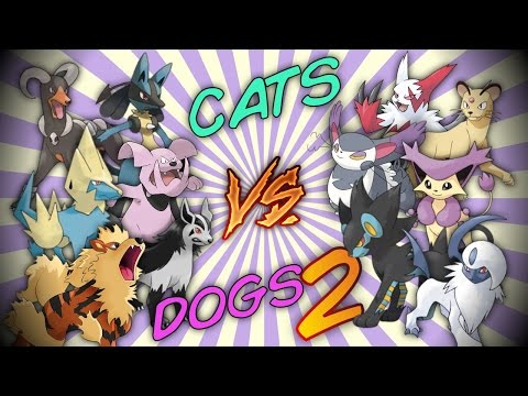 CATS vs DOGS 2 - Pokemon Battle Revolution (1080p 60fps)