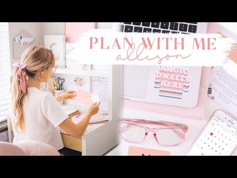 PLAN WITH ME! ✨ Life, meals, outfits, & more!