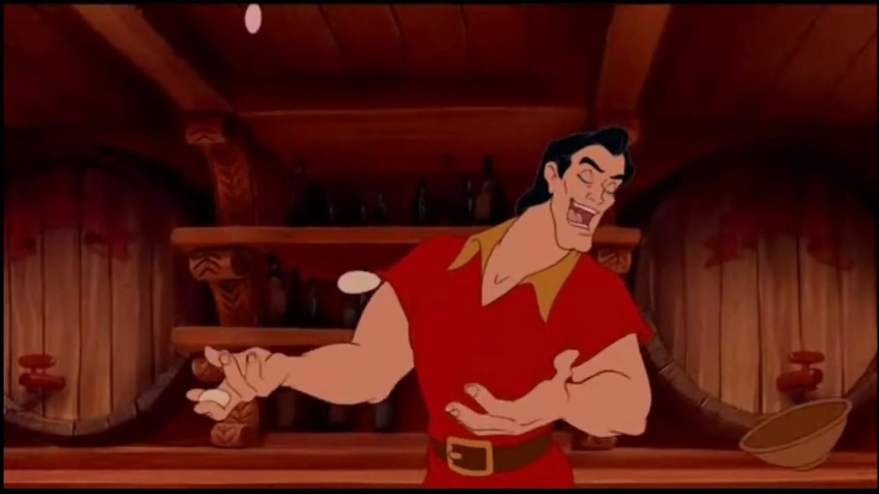 Piękna i Bestia Gaston HD
