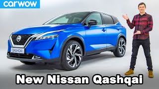 New Nissan Qashqai (Rogue) 2021 revealed... and I almost break it!