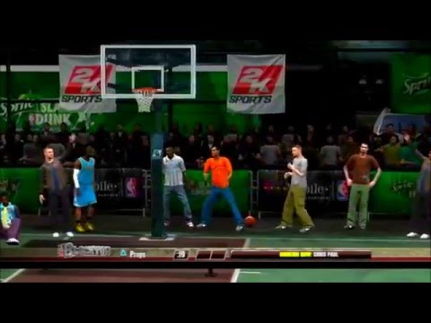 The Dunk Contest From Nba 2k7 To 2k16 Best Dunks From Nba 2k7 To 2k16