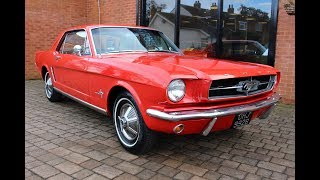 1964 1/2 Ford Mustang Coupe Auto