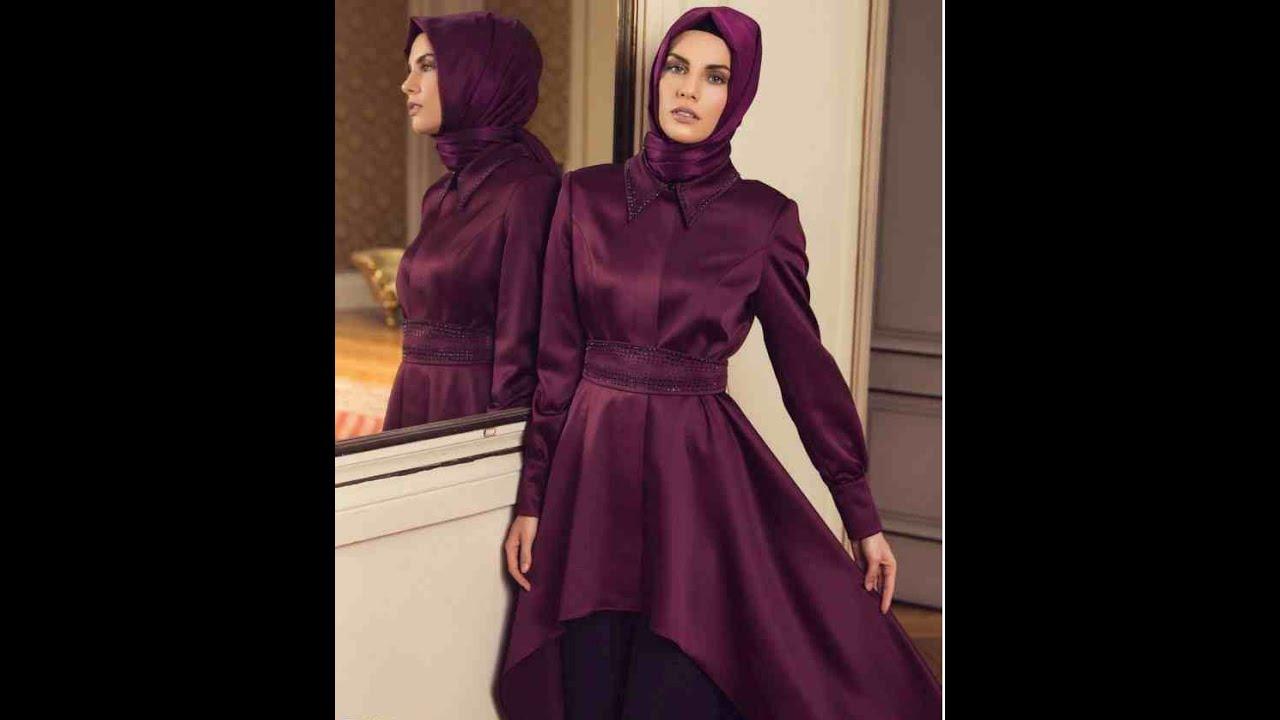 أحدث وأجمل الفساتين الكاجوال للمحجبات 20162015