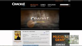 Crackle.com Ve películas y series GRATIS Y 100% LEGAL