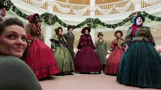 (2018) Voices of Liberty & Members of Voctave singing at Epcot | Family trip | Walt Disney World