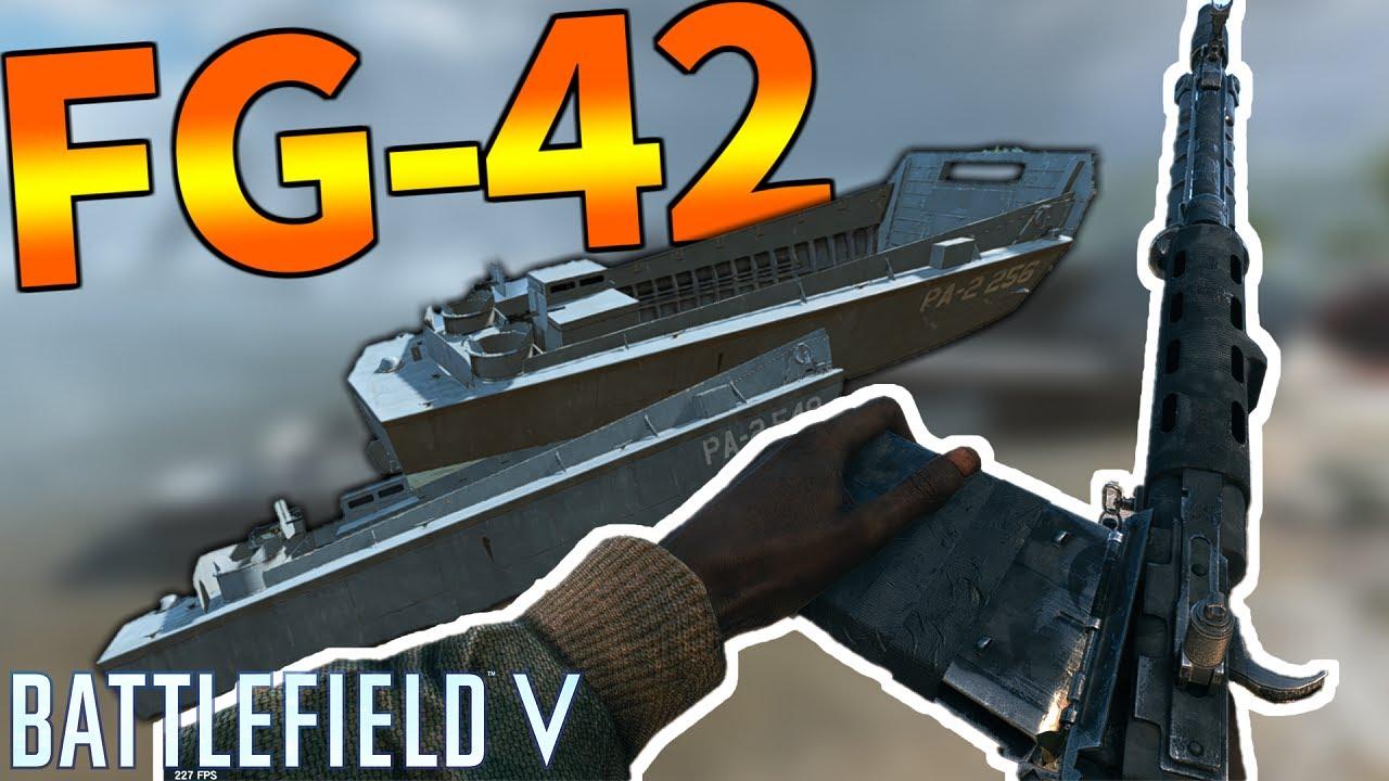 【BFV】FG-42のおすすめカスタム-レートの鬼編-【バトルフィールド5実況】【ソバルト】