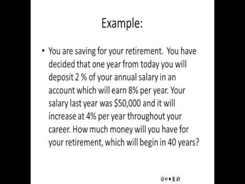 annuities and perpetuities Annuities and perpetuities are financial products where the purchaser of the product receives a calculating the present value of annuities and perpetuities can be done with the pv formula.