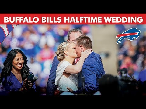Bama, Rob & Heather - C'mon Get Happy: Couple Marries at Halftime of an NFL Game!