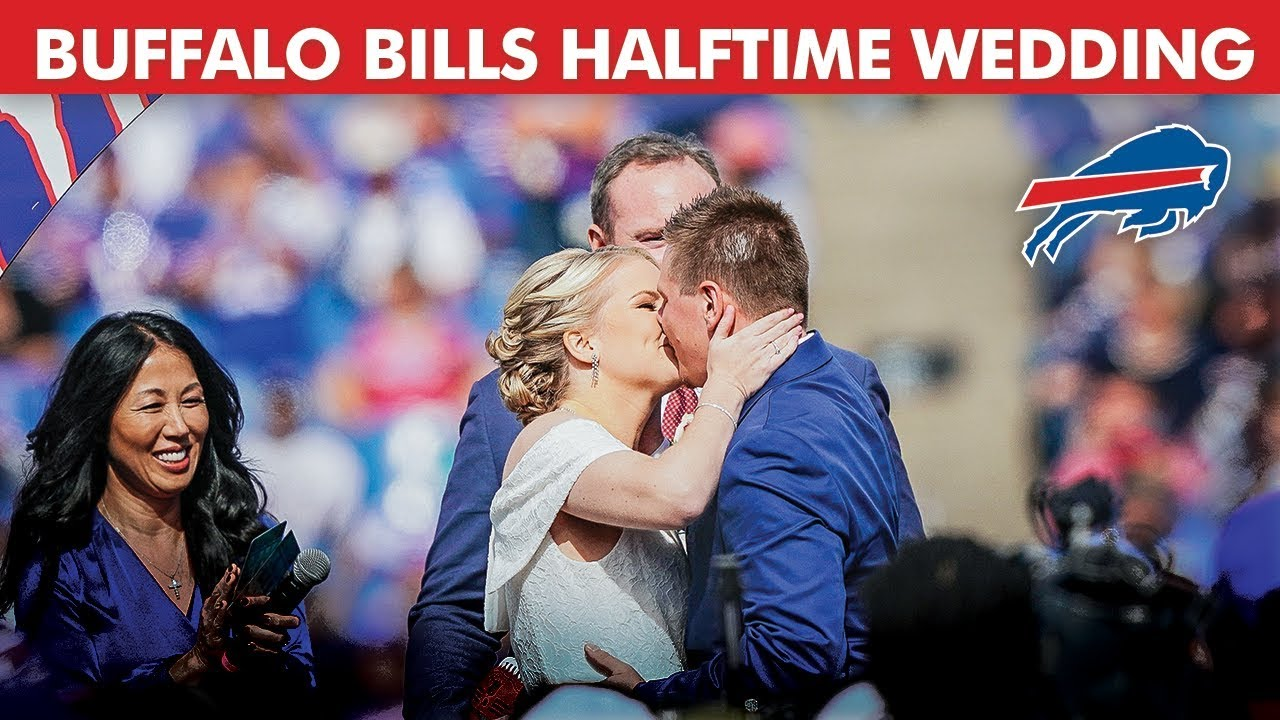 First-Ever Wedding at Halftime of an NFL GAME!