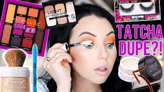 NEW DRUGSTORE MAKEUP First Impressions! Full Face of Affordable Makeup