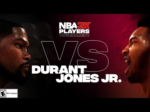 NBA2K Tournament Full Game Highlights: Kevin Durant vs. Derrick Jones Jr.