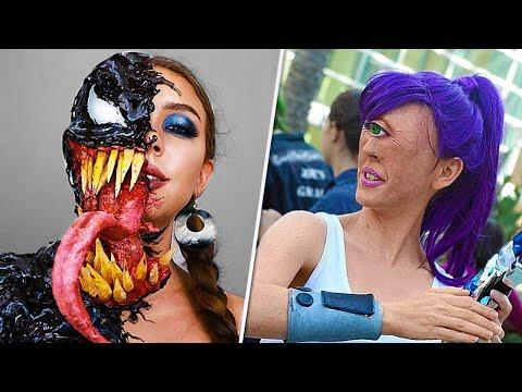 18 unglaublichsten Make-up-Künstler