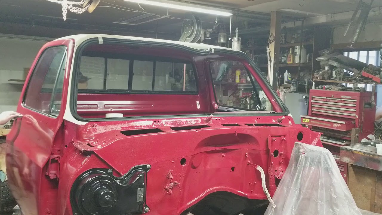 hight resolution of how to install front windshield on a 73 87 chevy pick up part 16