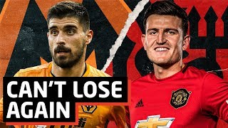 United Can't Lose To Wolves, Again...   Man Utd vs Wolves   Tactical Preview