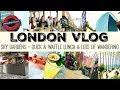 DAY IN LONDON | Sky Gardens | Duck & Waffle Lunch | London Vlog