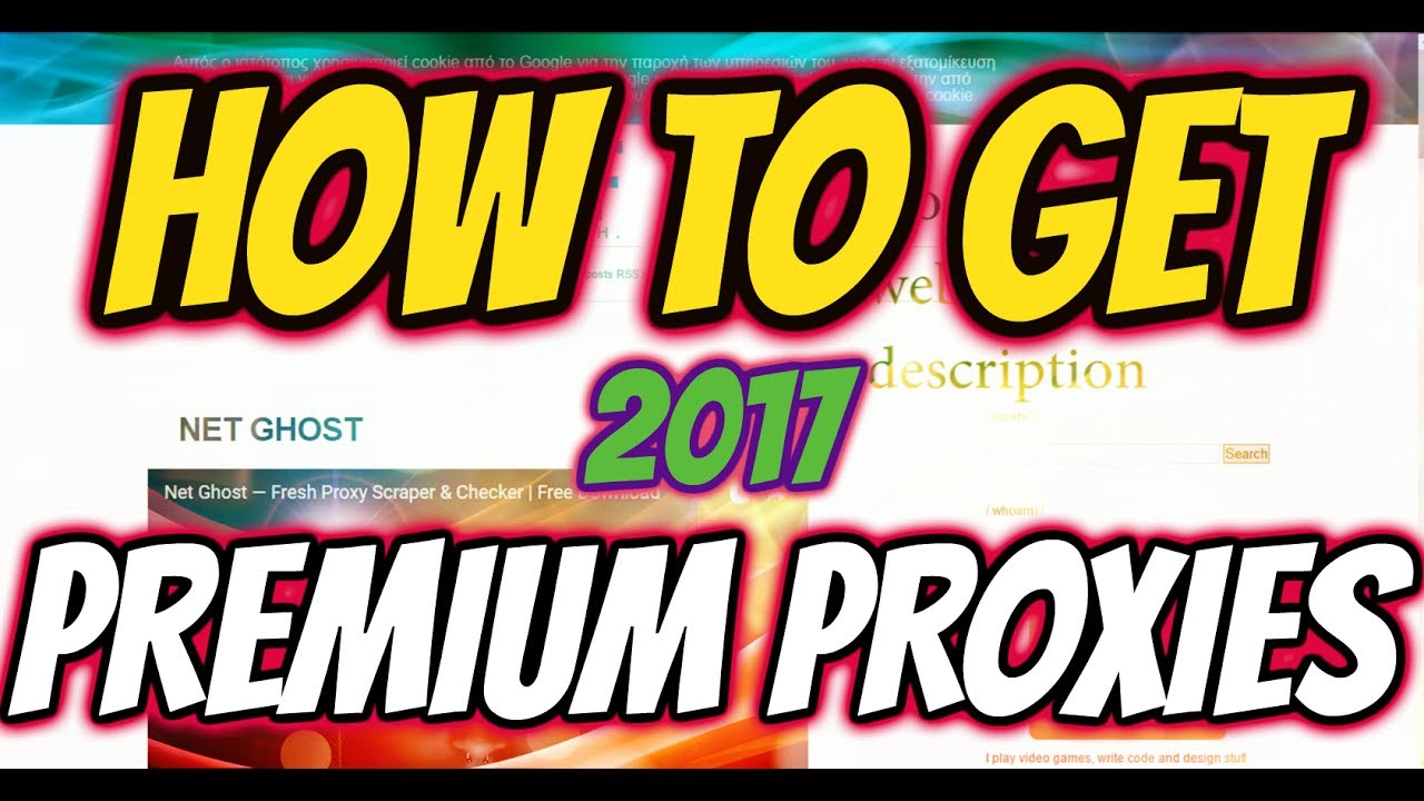 *HOW TO GET PREMIUM PROXIES FOR CRACKING*