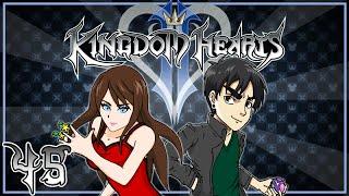 Kingdom Hearts 2 - Genierrito - Part 45 (MorganWant w/ NateWantsToBattle)