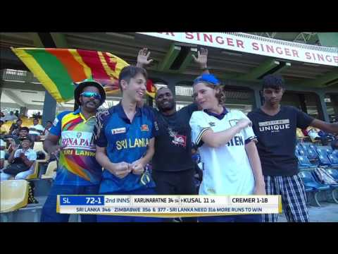 Day 4 Highlights - Sri Lanka v Zimbabwe Only Test at RPICS