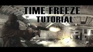 Time Freeze Tutorial - (After Effects)