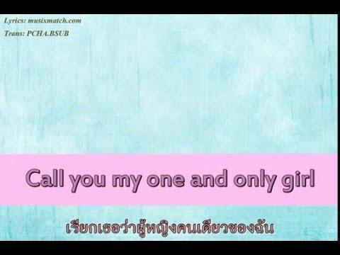 [Lyrics:ThaiTrans] Call You Mine - Jeff Bernat  (The Gentleman Approach)