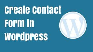 Best Free Wordpress Contact Form Plugin - Ninja Forms Tutorial