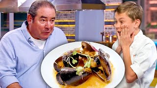 Kids Made Savory Honey Dishes for Emeril Lagasse! | Universal Kids
