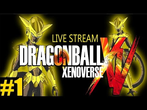 GETTING STARTED! - Dragon Ball: Xenoverse Playthrough Part 1 - [PC Live Stream]