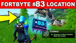 """FOUND IN A ROCK GARDEN NEAR THE COAST"" – Fortnite Fortbyte #83 Location Guide"