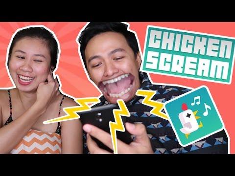 CHICKEN SCREAM - INTENSE CRAZY VOICE CONTROL GAME! HILARIOUS!